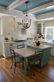 Designed Kitchens Interesting Island With Small Table Kitchens Pinterest Sink Design Shaker