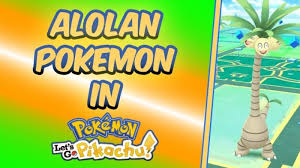 Alolan Pokemon in Pokemon Let's Go Trade Locations - Dexerto