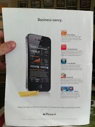 New Apple Print Ad Touts Iphones Business Savvy Macrumors