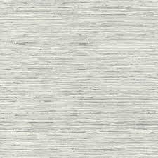 RoomMates Grasscloth Light Grey Vinyl ...
