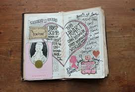 besottment old book journal