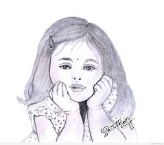 simple drawing in pencil. Perfect Pencil Cute Sketches To Draw For Girls Girl Simple Pencil Sketch  Drawing Inside In