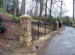 Residential Ornamental Iron Fences Arkansas Fence