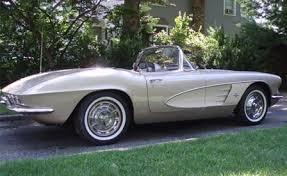 Image result for 1961 Corvette
