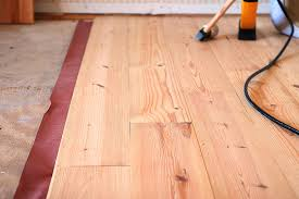 how to install a hardwood floor yourself