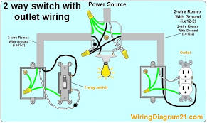 switch wiring diagram how to wire light Outlet Wiring Design Light Switch Outlet Combo Wiring