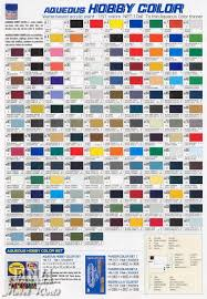 Mr Hobby Color Chart Pdf