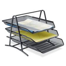 office paper holders. Contemporary Desk Tray Organizer Intended For Innovative Desktop Trays Organizers Office Supplies Newdesk Paper Holders