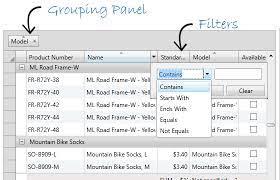 wpf darid display edit yze