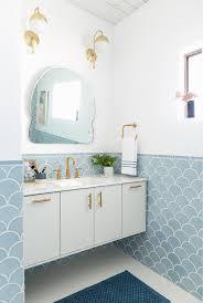 light blue bathroom tiles. Exellent Bathroom Master Bathroom Reveal Throughout Light Blue Tiles