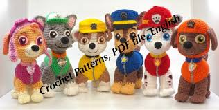 Paw Patrol Crochet Patterns