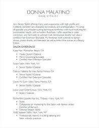 Idea Cosmetology Instructor Cover Letter Or Cosmetology