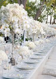 wedding theme silver. White and Silver Wedding Theme Weddings Romantique