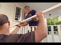 how to build a porch rail you