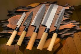 5 Pcs Kitchen Knives Set 73 Layers Japanese VG10 Damascus Steel Kitchen Knives Set