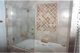 beautiful bathtub shower doors tub glass frameless