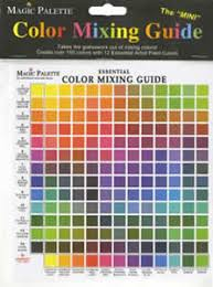 Colour Mixing Chart For Artists The Color Wheel Company Artists Color Wheels Mixing
