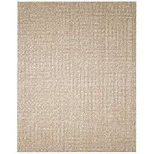 zatar beige and tan 8 ft x 10 ft wool and jute area rug