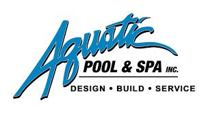 pool service logo. Aquatic Pool \u0026 Spa Service Logo