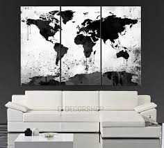 >piece wall art black and white wall painting as vanyeuseo  piece wall art black and white wall painting as