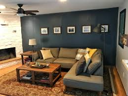 a dude s living room w diy made coffee side tables