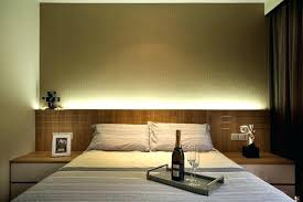 headboard lighting. Headboard With Built In Light This Bedroom Features A Wooden Side Tables . Lighting G