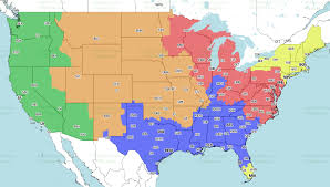Week 17 Nfl Broadcast Map Will You Be Able To See The