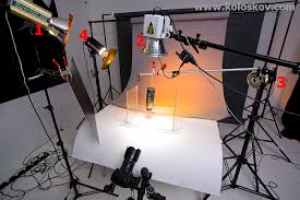 still life underwater photography lighting setup