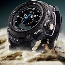 watch clasp picture more detailed picture about epozz popular epozz popular dual analog digital men s sports watches date week alarm stop watch 50m waterproof