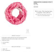 Pink Item C7635 Scarf Wrap