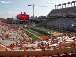 Darrell K Royal Texas Memorial Stadium Touchdown Club 19 C
