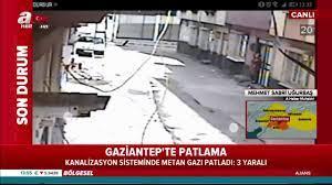 Son dakika gelişmesi: Gaziantep'te metan gazı bomba gibi patladı! Olay  yerinden görüntüler! videosunu izle   Son