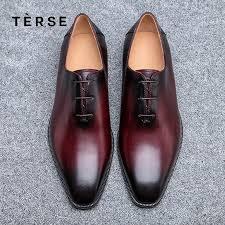 terse new dressing shoes luxury men genuine leather shoes fashion flats oxfords business casual shoe en jpg