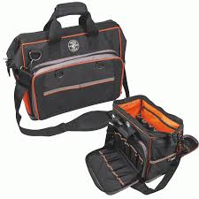 tool organizer bag. klein tools tradesman pro organizer extreme electrician\u0027s bag, black · enlarge tool bag