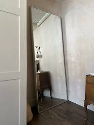ikea hovet mirror silver frame free