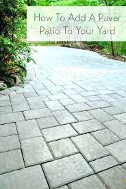 diy patio pavers easy patio patio ideas