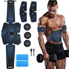 DREAM EMS Wireless <b>Smart</b> Muscle Massager Abdominal <b>Training</b> ...