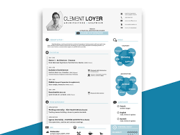 Free Infographic Resume Template Resumekraft