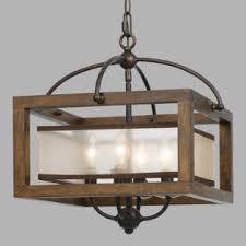 lighting wood. Wood And Dark Bronze Semi Flush 4 Light George Pendant Lighting
