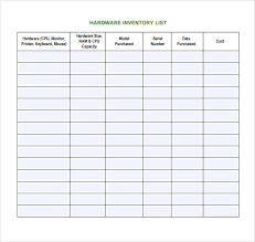 format of inventory computer inventory format forest jovenesambientecas on excel