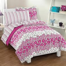 purple cheetah comforter set animal print bedding safari comforters
