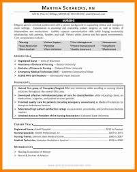 Objective Nursing Resume Sevte