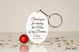 thank you for raising the man mother of the groom gift gift for mother in law mother of the groom husband mom gift mother in law key chain