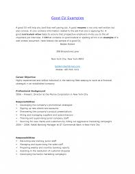Great Resume How Do You Write Good Resume Chic Samples Of Well Written For Your 27