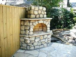 diy outdoor fireplace kit
