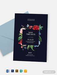 11 Save The Date Templates Psd Word Ai Eps Free
