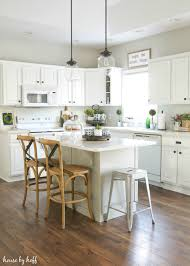 Farm Kitchen Design Stunning Modern Farmhouse Kitchen White Stained Wooden L