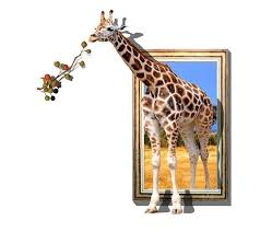 giraffe printed 3d oil paintings on canvas walls art animals posters and prints pictures for living room home decorations a8 in painting calligraphy from