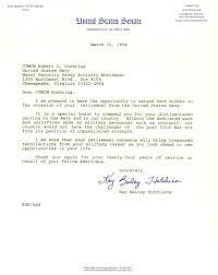navy retirement me letters