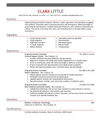 best drug and alcohol counselor resume example livecareer click on the templates below to view the samples then start building your own job winning resume